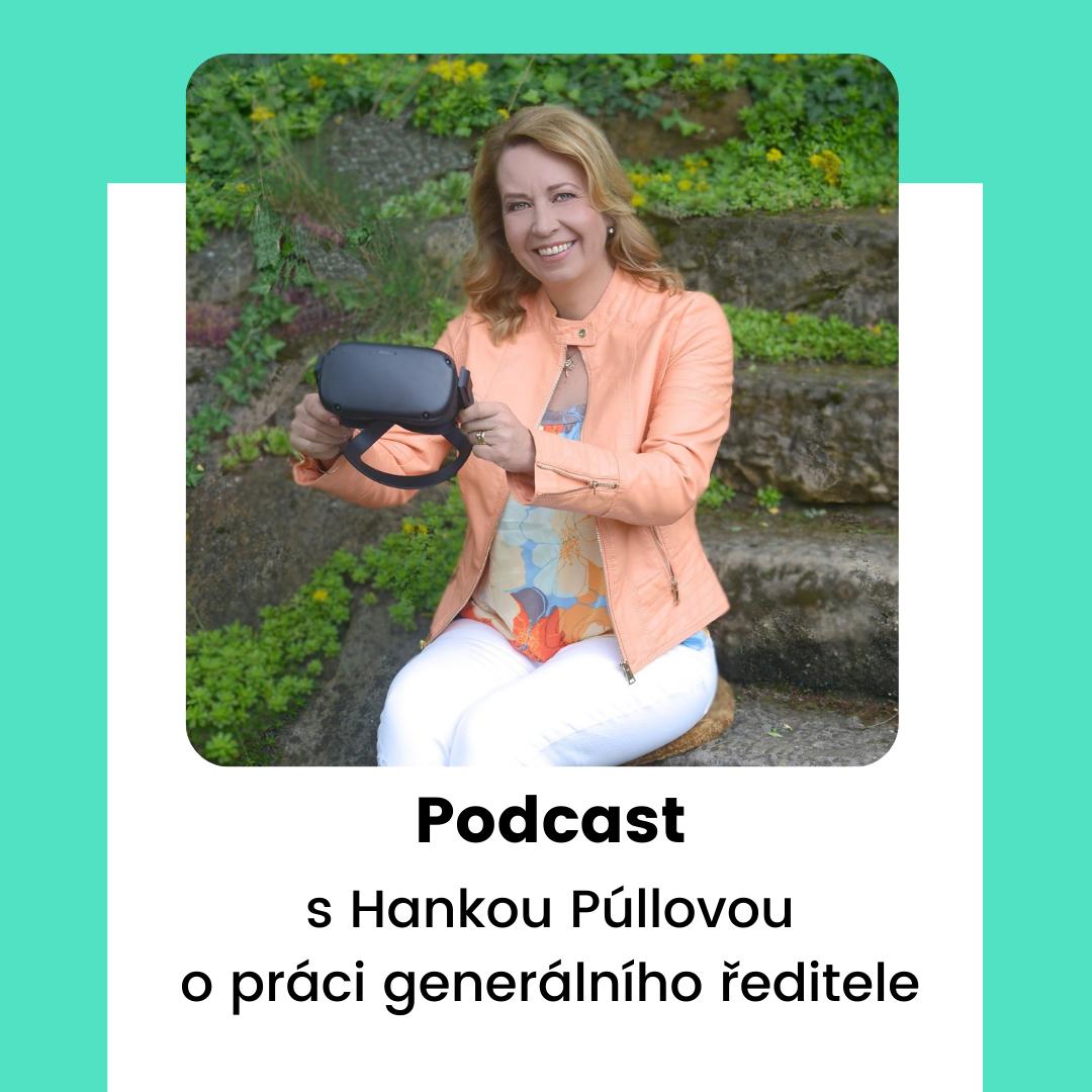 Podcast s Hankou Púllovou